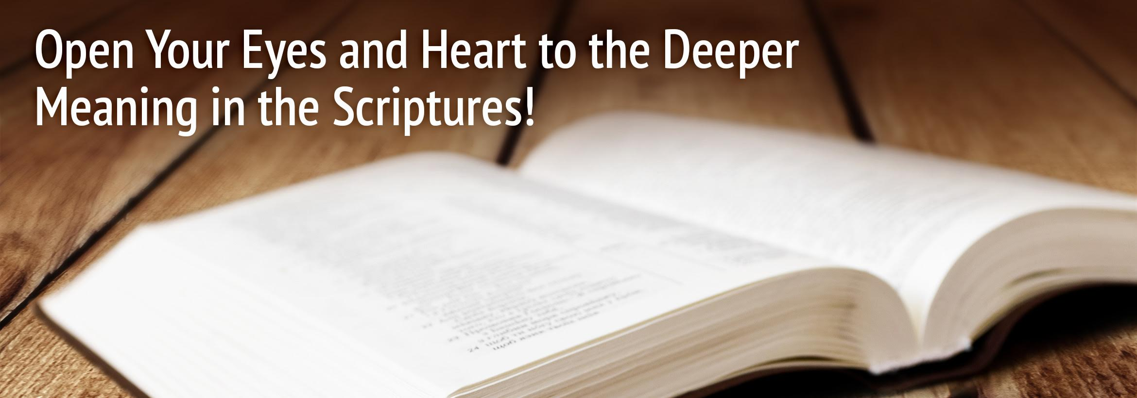 Free Courses from Our Daily Bread Christian University. Open Your Eyes and Heart to the Deeper Meaning in the Scriptures!